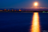 Moonset Over Cherry Creek State Park