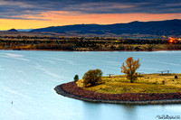 First Light Of Fall At Chatfield