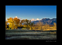 An Autumn Morning in Colorado