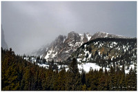 Snow Storms Along The Hallet Range