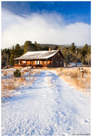 Winter Country Cabin-00912
