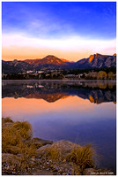 Lake Estes Sunrise 10-27-08