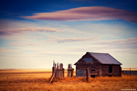 The Barn Forgotten On The Plains