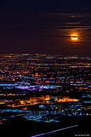 Moonrise Above The City