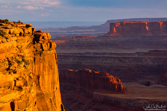 Golden Hour At Dead Horse Point