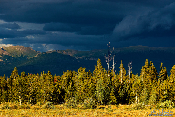 Thunderstorms Over The Continental Divide